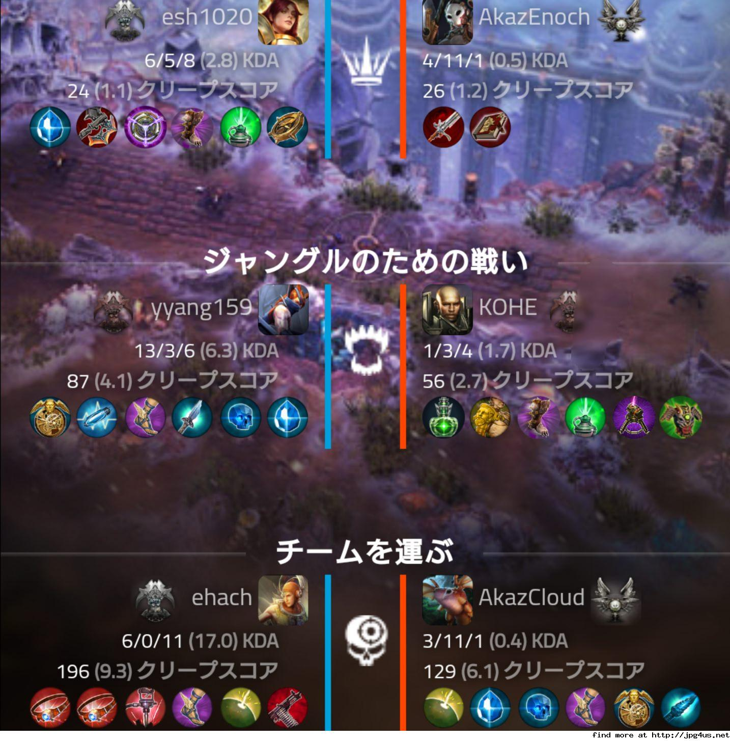 【MobA】vainglory★tier195 	YouTube動画>2本 ->画像>51枚